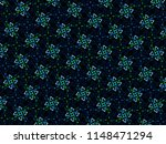 a hand drawing pattern made of...   Shutterstock . vector #1148471294