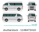 vector eps 10   template van... | Shutterstock .eps vector #1148472410