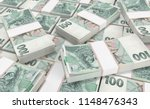3d realistic render of 100... | Shutterstock . vector #1148476343
