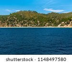 view of mountains from aegean... | Shutterstock . vector #1148497580