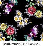 watercolor seamless pattern... | Shutterstock . vector #1148502323