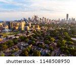 Aerial East Toronto  Canada