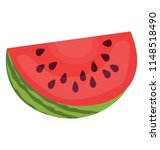 watery and juicy summer fruit... | Shutterstock .eps vector #1148518490