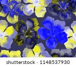 hawaiian watercolor pattern....   Shutterstock . vector #1148537930
