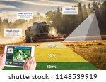 smart farming  hi tech...   Shutterstock . vector #1148539919