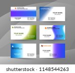 abstract professional and... | Shutterstock .eps vector #1148544263