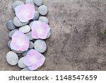close up view of zen stones... | Shutterstock . vector #1148547659