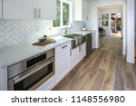 remodeled kitchen with pure... | Shutterstock . vector #1148556980