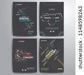 set of business cover brochure... | Shutterstock .eps vector #1148598263