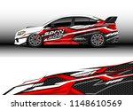 car wrap design vector  truck... | Shutterstock .eps vector #1148610569