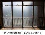 close up of 1950's window... | Shutterstock . vector #1148624546