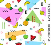 seamless pattern. geometric... | Shutterstock .eps vector #1148635763