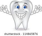 happy tooth | Shutterstock .eps vector #114865876