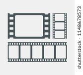 video tape photo strip | Shutterstock .eps vector #1148678573