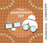 happy grand parents day | Shutterstock .eps vector #1148693399