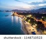 Aerial Photo Of Acapulco At...