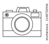 photographic camera isolated...   Shutterstock .eps vector #1148720546