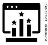 a web window showing three... | Shutterstock .eps vector #1148727050