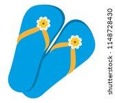 flip flops isolated icon | Shutterstock .eps vector #1148728430