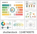 colorful accounting or... | Shutterstock .eps vector #1148740070