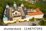 aerial view of svata hora  holy ... | Shutterstock . vector #1148747393