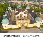 aerial view of svata hora  holy ... | Shutterstock . vector #1148747396