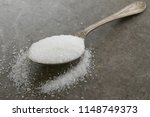 granulated refined white sugar | Shutterstock . vector #1148749373