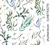 watercolor seamless pattern of... | Shutterstock . vector #1148753270