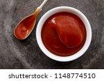 Fresh Tomato Ketchup In Dish