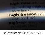 Small photo of high treason word in a dictionary. high treason concept.