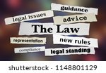 the law legal headlines advice... | Shutterstock . vector #1148801129