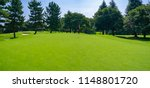 panorama view of golf course... | Shutterstock . vector #1148801720