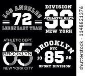 sport alhletic stock set... | Shutterstock .eps vector #1148821376
