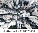 Stock photo bird eye view of a city 1148825450