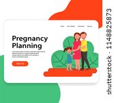 pregnancy plan illustration ui...