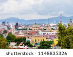 vibrant colors in puebla city... | Shutterstock . vector #1148835326