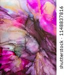 alcohol ink art. abstract...   Shutterstock . vector #1148837816