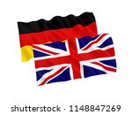 national fabric flags of great... | Shutterstock . vector #1148847269