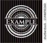 example silver emblem or badge | Shutterstock .eps vector #1148850260
