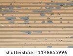 stainless rolling shutter door... | Shutterstock . vector #1148855996