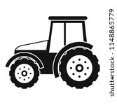 tractor icon. simple... | Shutterstock .eps vector #1148865779