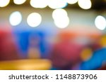 soft colorful bokeh lights... | Shutterstock . vector #1148873906