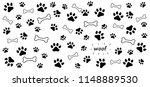 animals footsteps foot feet...   Shutterstock .eps vector #1148889530