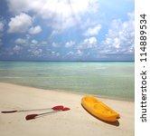 Maldives serenity - stock photo