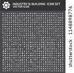 industrial vector icon set | Shutterstock .eps vector #1148898776