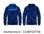 hoodie shirts template.jacket... | Shutterstock .eps vector #1148910746