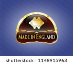 gold emblem with business... | Shutterstock .eps vector #1148915963