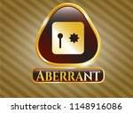 golden emblem or badge with...   Shutterstock .eps vector #1148916086