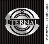 eternal silver shiny emblem | Shutterstock .eps vector #1148936066
