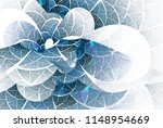 Intricate Blue   Teal Abstract...